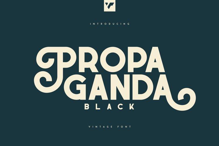 Propaganda Black Display example image 1
