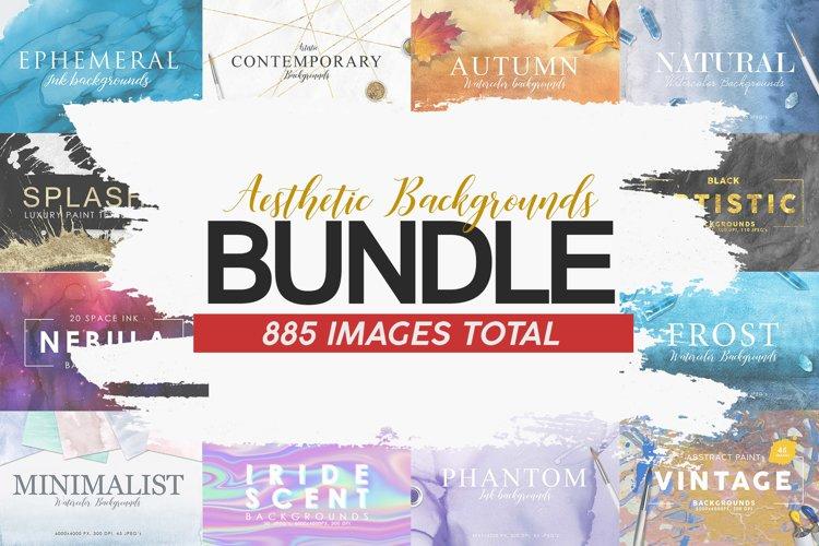 Aesthetic Backgrounds BUNDLE