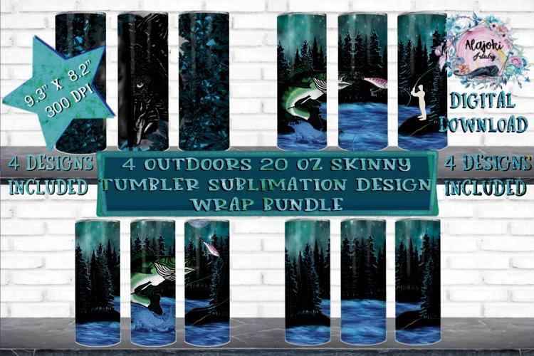 Camping | Outdoors |20oz| Sublimation Tumbler Design Bundle example image 1