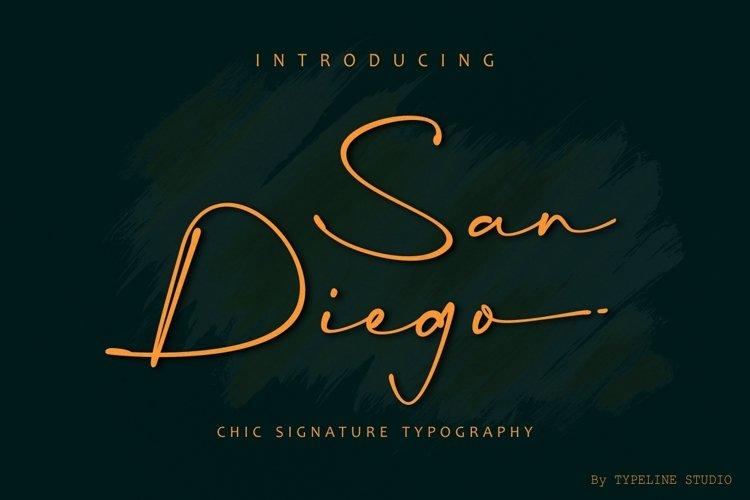San Diego Signature example image 1