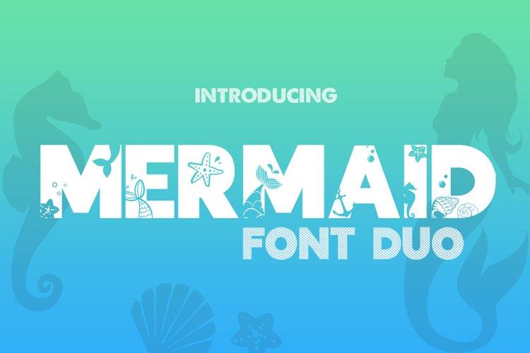 Mermaid Font Duo example image 1