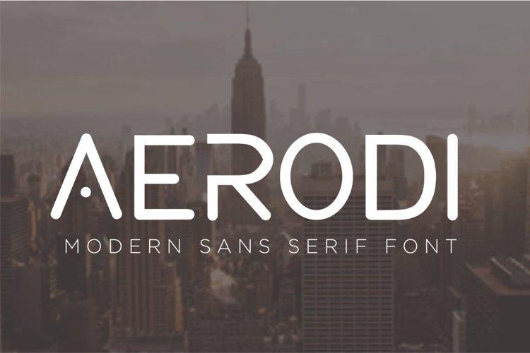 AERODI - Modern Sans Serif