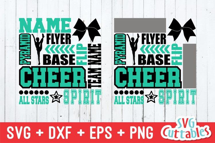 Cheer SVG | Cheer All-stars Subway Art | Shirt Design