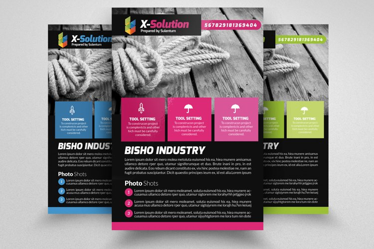 Business Flyers Templates example image 1