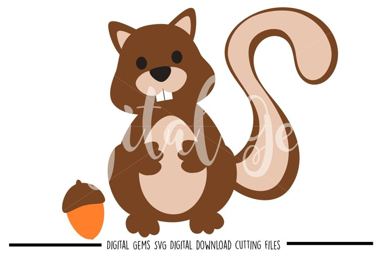 Squirrel SVG / EPS / DXF files example image 1