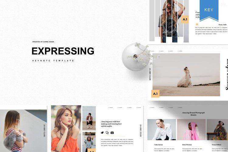 Expressing | Powerpoint, Keynote, GoogleSlides Template example image 1