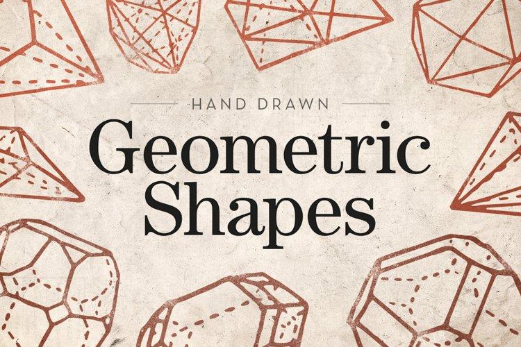 Hand Drawn - Geometric Shapes example image 1