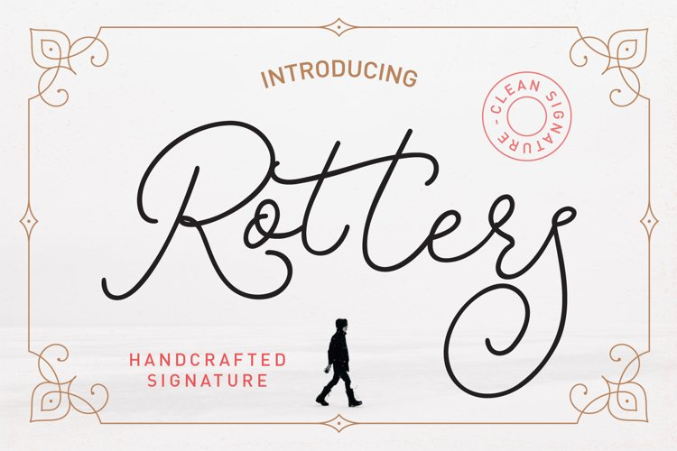 Rotters Script Font example image 1