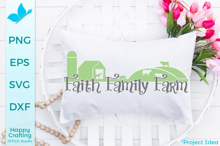 Faith Family Farm- A Pretty Country Craft File example image 1