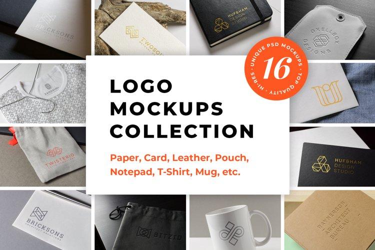 Logo Mockups Collection Vol.1