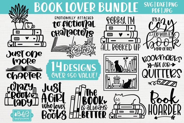 Book Lover SVG Bundle | Books SVG Bundle | 14 Designs