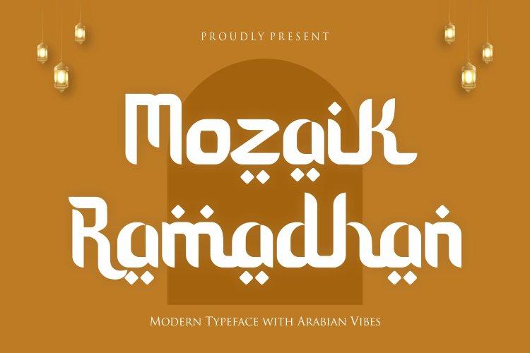Mozaik Ramadhan example image 1