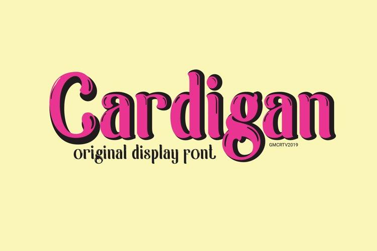 Cardigan example image 1