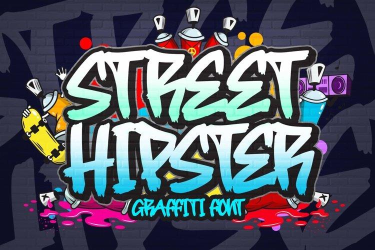Street Hipster Graffiti Font example image 1