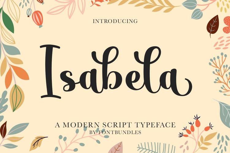 Isabela example image 1