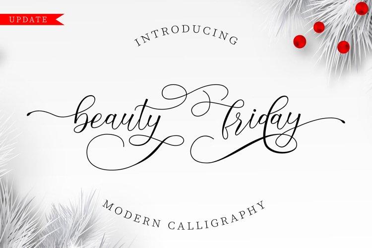 Beauty Friday Script