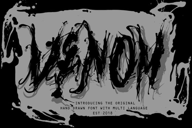 venom font example image 1