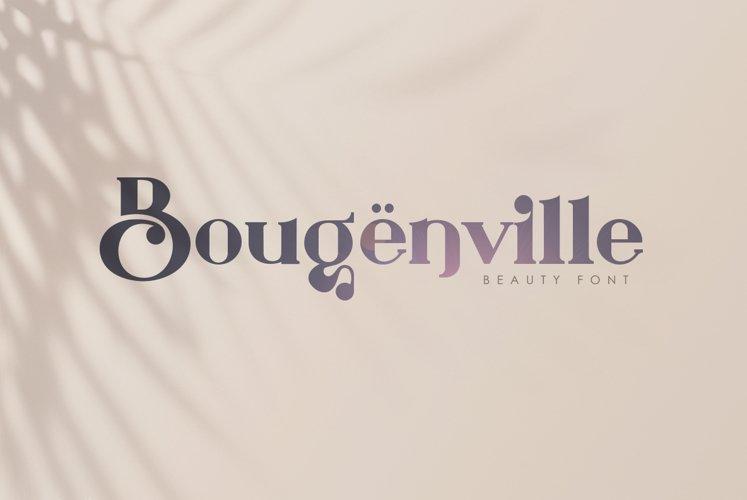 Bougenville Modern Vintage Serif example image 1