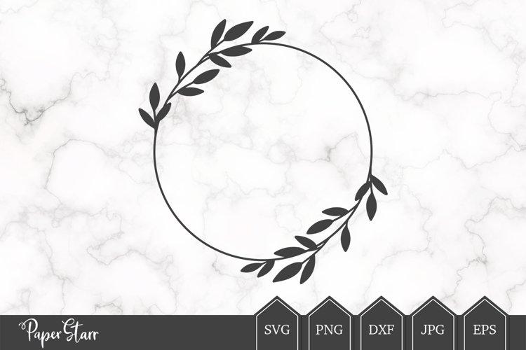 Wreath SVG / DXF Cut File