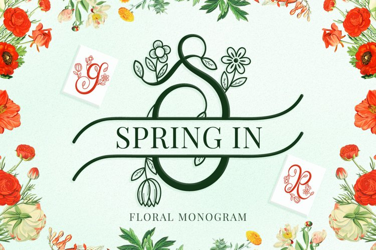 Spring in Monogram example image 1