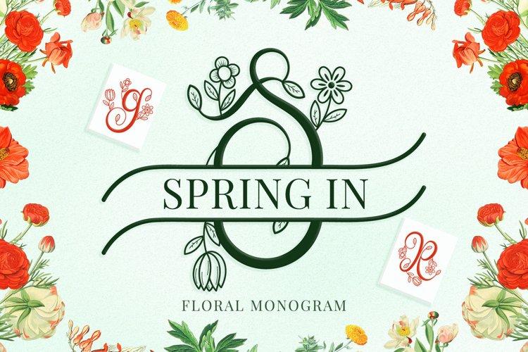 Spring in Monogram