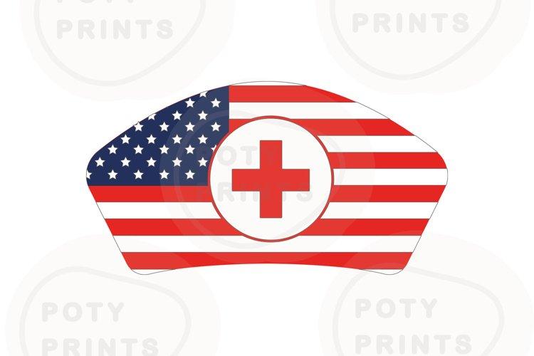 Nurse hat for true America fans