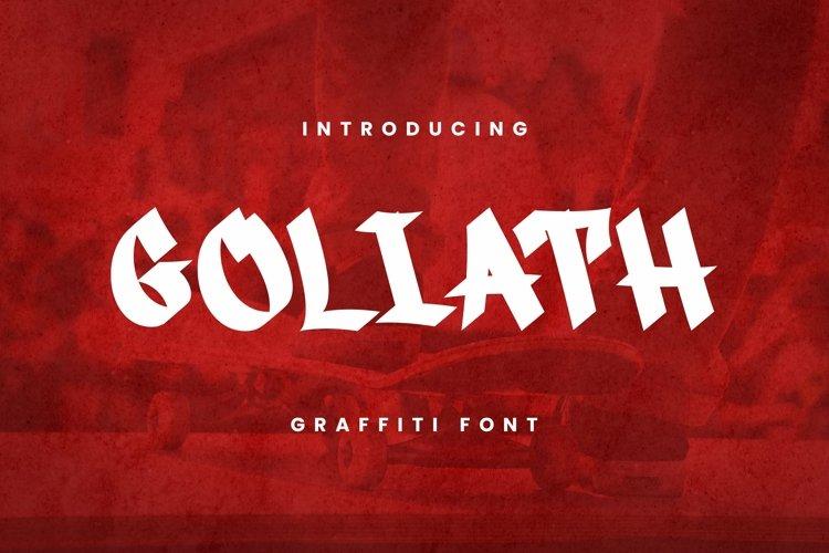 Web Font Goliath Font example image 1