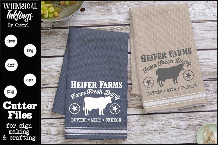 Heifer Farms SVG example image 1