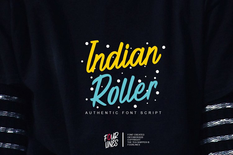 Indian Roler example image 1