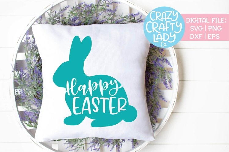 Happy Easter Bunny SVG DXF EPS PNG Cut File