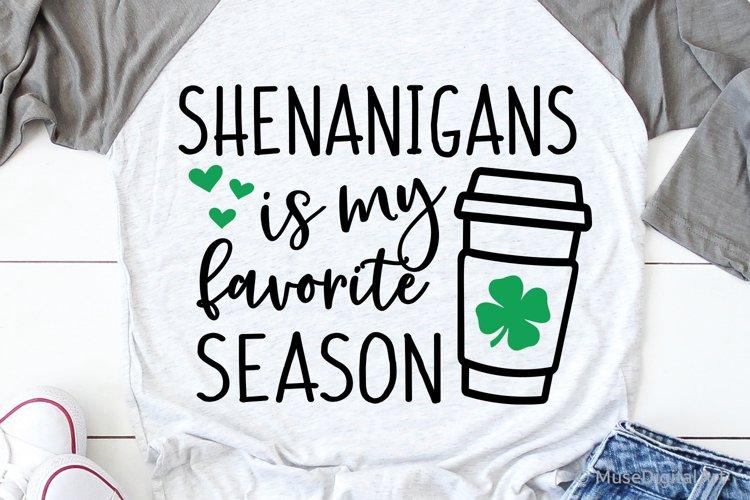 Shenanigans Svg St Patricks Day Svg,, Irish Drunk Svg, Funn example image 1