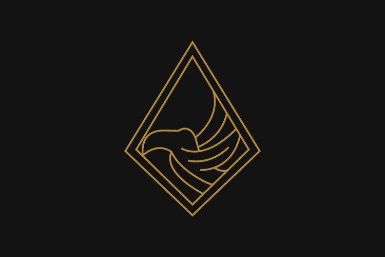 Toucan minimalist logo example image 1