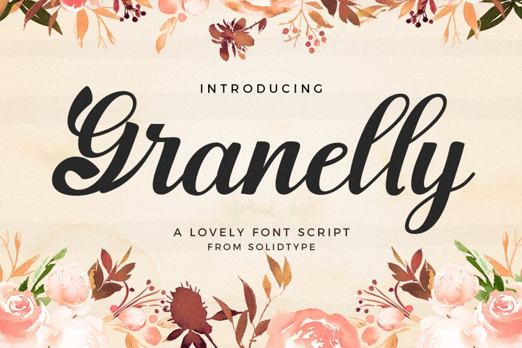 Granelly Script example image 1