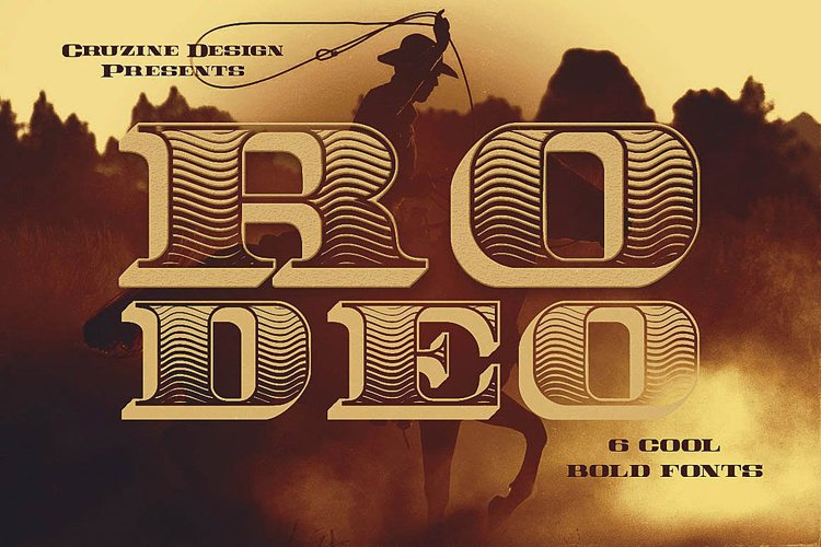 Rodeo Typeface example image 1
