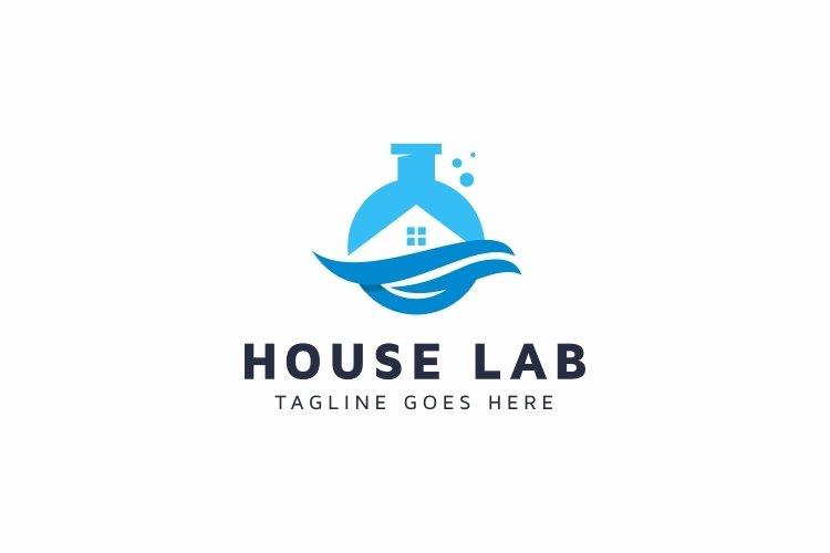 House Lab Logo example image 1