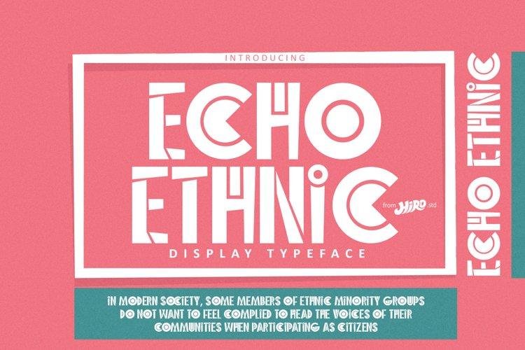 Echo Ethnic