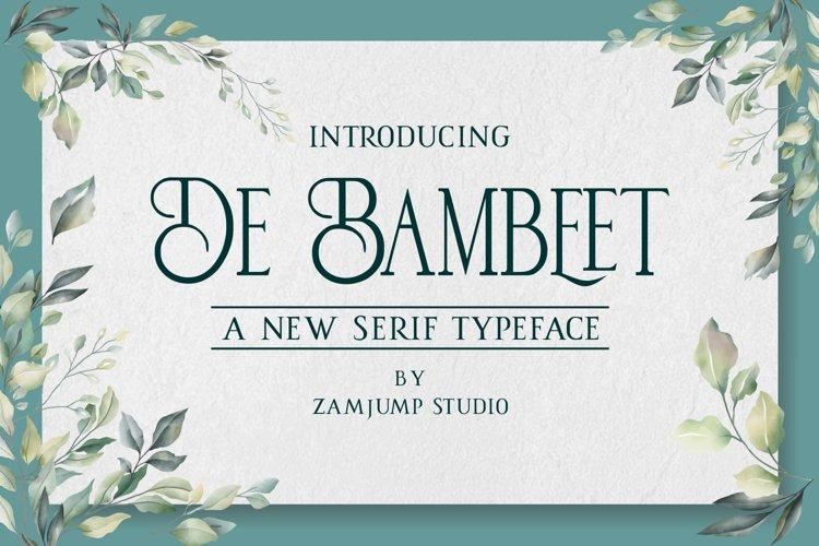 De Bambeet example image 1