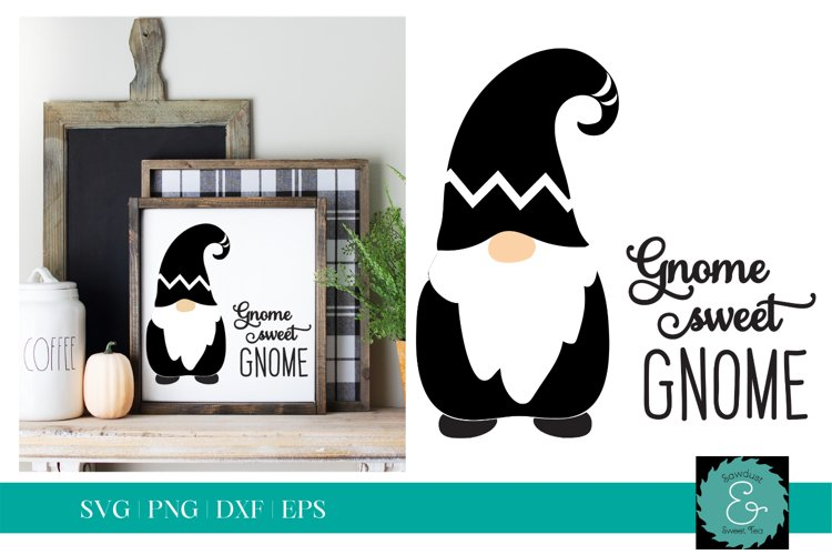 Gnome SVG, Glowforge Gnome SVG, Gnome Sweet Gnome