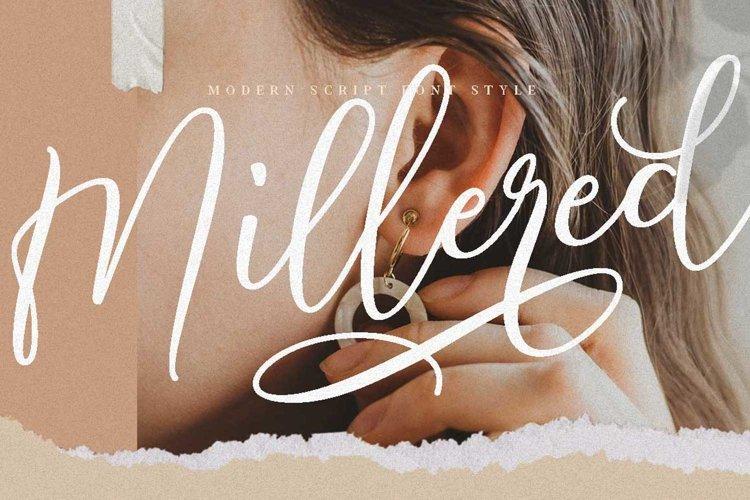 Millered - Beauty Elegant Script example image 1