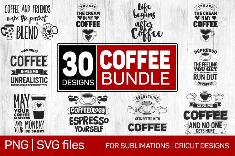 Coffee SVG BNG Bundle