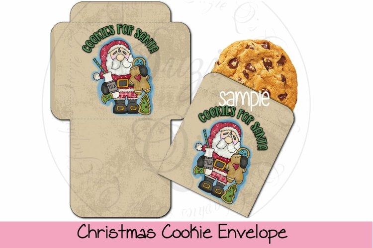 Christmas Cookie Envelope