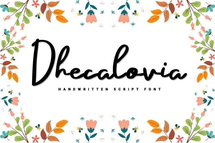 Dhecalovia example image 1