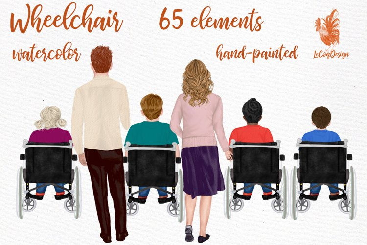 Wheelchair clipart Disability clipart Special Needs