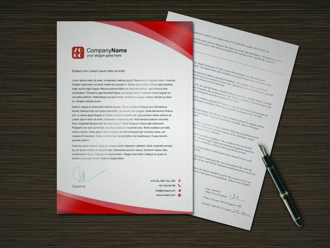 Photorealistic A4 paper mockup example image 1