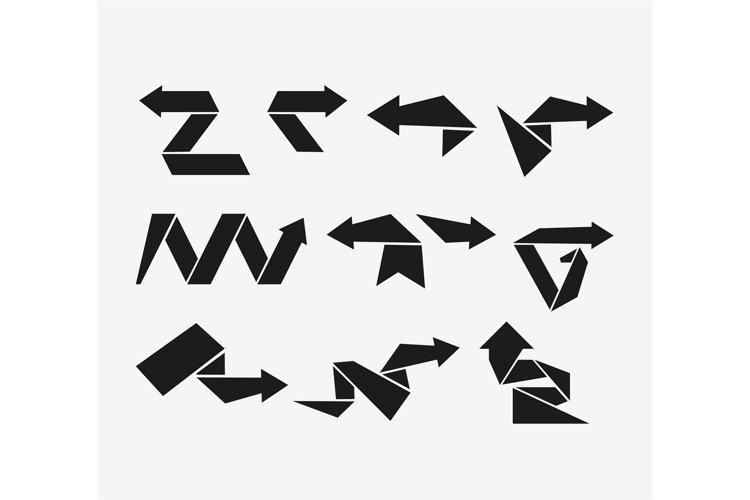 Modern flat arrows example image 1