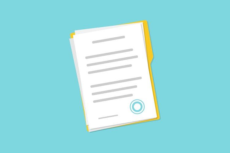 Documents on folder example image 1