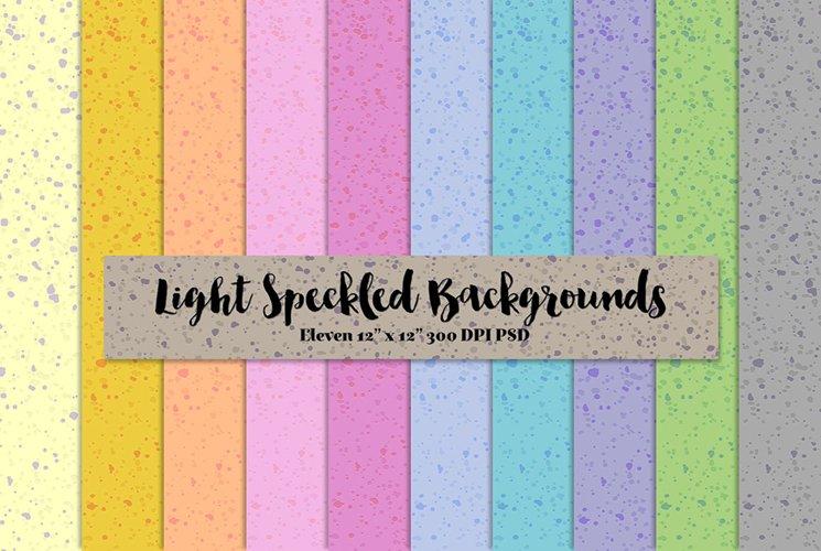 Light Speckled Backgrounds