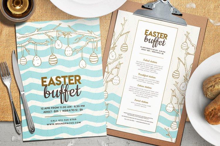 Easter Menu Template Vol.2 example image 1
