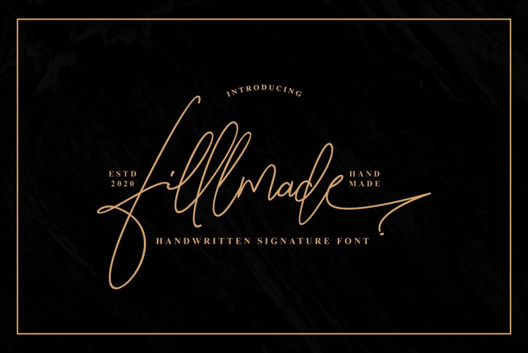 Fillmade Signature example image 1