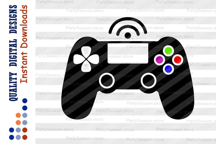 Game controller Clip art Games svg Xbox Digital download